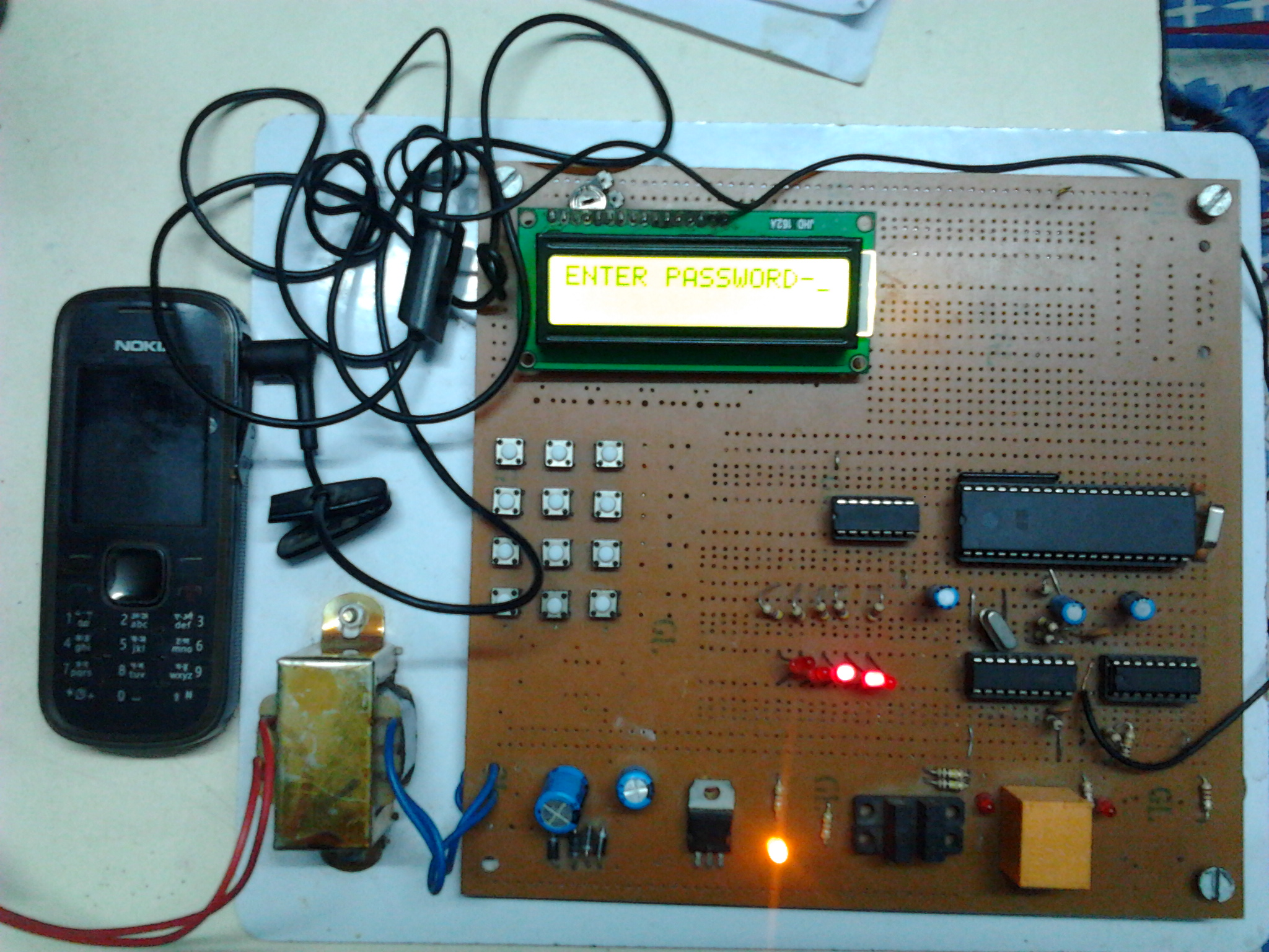 How To Build Battery Saver Circuit Diagram